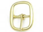 30mm Solid Brass Halter Buckle. For halter straps up to 30mm (1 3/16 inches) wide. Code BUC145